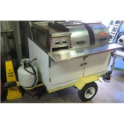 Food-Vending Cart, West Coast Custom Carts