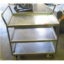 Metal Rolling Tray Cart