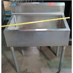 Stainless International Single-Basin Sink