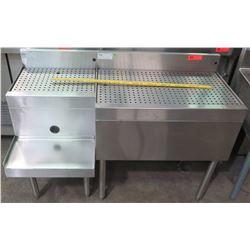 Glastender Underbar Drainboard, Model DBA-30