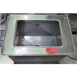 "Countertop Single-Basin Sink, 21""W x 15""D x 13""H"