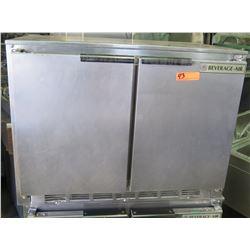 Beverage Air Back Bar Refrigerator w/ 2 Doors