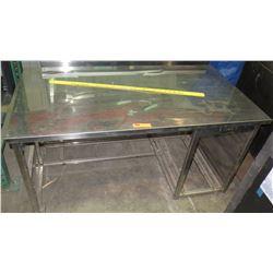 Utility Table w/ Undershelving
