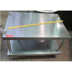 Stainless Prep Table w/ Bottom Shelf