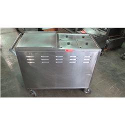 Temperature Controlled Dim Sum Cart