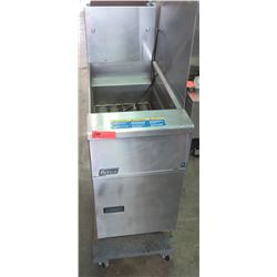 Pitco Commercial Stainless Steel Floor Deep Fryer