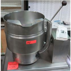 "Groen Model #TDB17 Electric Steam Kettle 48"" x 24"" Manual Tilt"