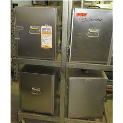 "Qty 4 SICO Electric Food Warmers 16""x15""x20"" (cart not included)"