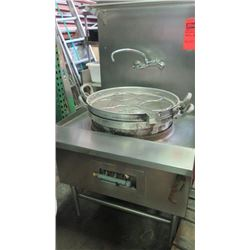 "48"" Gas-Powered Noodle Broiler w/ Table"