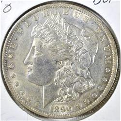 1890-O MORGAN DOLLAR, BU