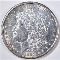 1892-CC MORGAN DOLLAR, BU