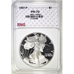 1997 ASE, RNG PERFECT GEM PROOF DCAMEO