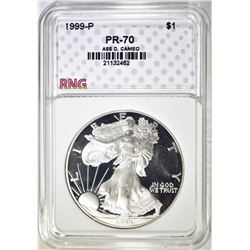 1999 ASE, RNG PERFECT GEM PROOF DCAMEO