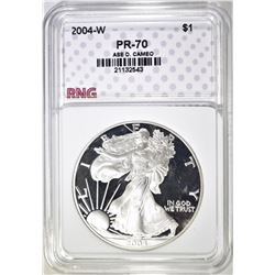 2004-W ASE, RNG PERFECT GEM PROOF DCAMEO