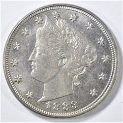 1883 NO CENTS LIBERTY NICKEL GEM BU
