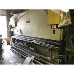 DARLEY MODEL EHP150 1500 BENDING PRESSURE, 4300 WORKING LENGTH 165 TON X 12' HYDRAULIC BRAKE PRESS