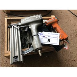 ASSORTED PNEUMATIC STAPLE/NAIL GUNS