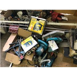 LOT OF ASSORTED TOOLS IN AREA