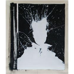 Richard Hambleton American Acrylic on Canvas 2013