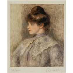 Pierre-Auguste Renoir French Signed Litho 97/100