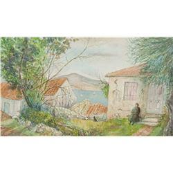 Winifred Nicholson British Impressionist WC Board