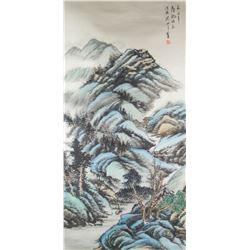 Guan Shanyue 1912-2000 Chinese Watercolour Paper