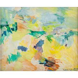 Hans Hofmann American Abstract Acrylic on Canvas