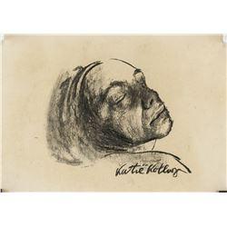 Kathe Kollwitz German Expressionist Charcoal Paper