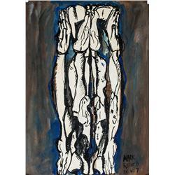 Mark Rothko American Abstract Tempera on Paper