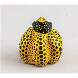 Yayoi Kusama Japanese Yellow Pumpkin 1984