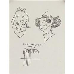 George Mcmanus American Pop Art Ink on Paper