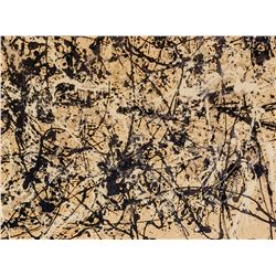Jackson Pollock American Abstract Signed Litho AP