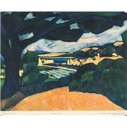 "Andre Derain NYGS Lithograph ""The Blue Oak"""