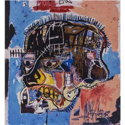 Jean-Michel Basquiat US Pop Signed Litho 18/100