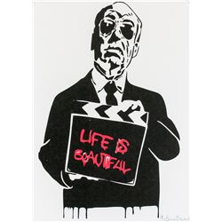 Mr. Brainwash French Pop Signed Lithograph 2/75