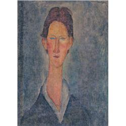 Amedeo Modigliani Italian Fauvist Signed Litho