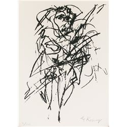 Willem de Kooning US Abstract Signed Litho 4/100