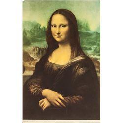 Leonardo Da Vinci NYGS Litho Paper Mona Lisa