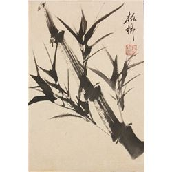 Zheng Banqiao 1693-1766 Chinese Ink Bamboo