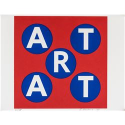 Robert Indiana American Pop Signed Litho 2/100