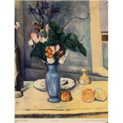 """Paul Cezanne NYGS Lithograph """"The Blue Vase"""""""