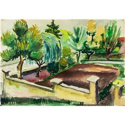 Henry Charles Manguin French Fauvist Watercolor