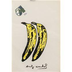 Andy Warhol American Pop Art Mixed Media Banana
