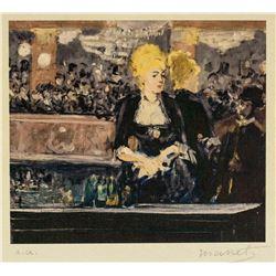 Edouard Manet French Impressionist Signed Litho EA