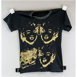 "Andy Warhol ""Reversal Marilyn/Gun"" 1982 T-Shirt"