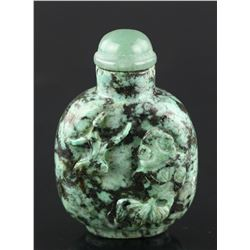 Chinese 19th C. Turquoise Snuff Bottle