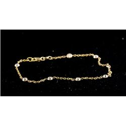 10kt Brown Color Diamond Bracelet