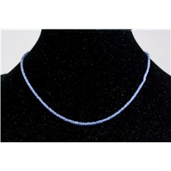 14kt Sapphire (25ct) Necklace