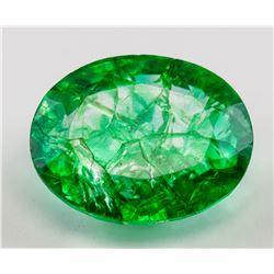 14.70 ct Natural Emerald Gemstone GGL Certificate