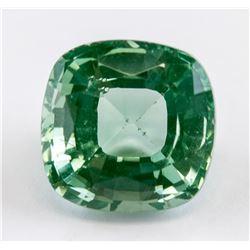 5.22 Ct Cushion Cut Green Peridot
